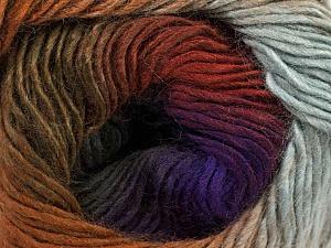 Fiber Content 50% Acrylic, 50% Wool, Purple Shades, Khaki, Brand Ice Yarns, Grey, Brown Shades, Yarn Thickness 2 Fine Sport, Baby, fnt2-46630