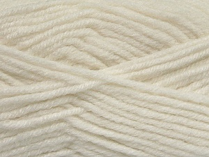Fiber Content 50% Acrylic, 25% Wool, 25% Alpaca, White, Brand Ice Yarns, Yarn Thickness 5 Bulky  Chunky, Craft, Rug, fnt2-47132