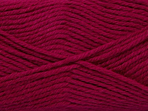 Fiber Content 50% Acrylic, 25% Wool, 25% Alpaca, Brand Ice Yarns, Fuchsia, Yarn Thickness 5 Bulky  Chunky, Craft, Rug, fnt2-47147