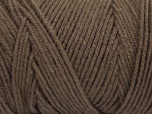 Items made with this yarn are machine washable & dryable. Fiber Content 100% Dralon Acrylic, Brand Ice Yarns, Dark Camel, Yarn Thickness 4 Medium  Worsted, Afghan, Aran, fnt2-47174