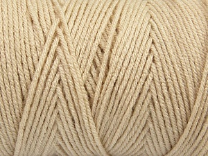 Items made with this yarn are machine washable & dryable. Fiber Content 100% Dralon Acrylic, Light Beige, Brand Ice Yarns, Yarn Thickness 4 Medium  Worsted, Afghan, Aran, fnt2-47178