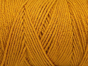 Items made with this yarn are machine washable & dryable. Fiber Content 100% Dralon Acrylic, Brand Ice Yarns, Gold, Yarn Thickness 4 Medium  Worsted, Afghan, Aran, fnt2-47181