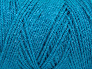 Items made with this yarn are machine washable & dryable. Fiber Content 100% Dralon Acrylic, Turquoise, Brand Ice Yarns, Yarn Thickness 4 Medium  Worsted, Afghan, Aran, fnt2-47186