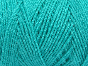 Items made with this yarn are machine washable & dryable. Fiber Content 100% Dralon Acrylic, Brand Ice Yarns, Aqua, Yarn Thickness 4 Medium  Worsted, Afghan, Aran, fnt2-47187