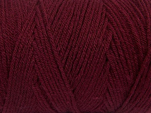 Items made with this yarn are machine washable & dryable. Fiber Content 100% Dralon Acrylic, Brand Ice Yarns, Burgundy, Yarn Thickness 4 Medium  Worsted, Afghan, Aran, fnt2-47188