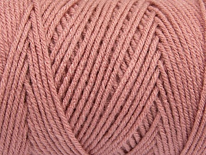 Items made with this yarn are machine washable & dryable. Fiber Content 100% Dralon Acrylic, Rose Pink, Brand Ice Yarns, Yarn Thickness 4 Medium  Worsted, Afghan, Aran, fnt2-47190