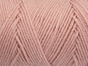 Items made with this yarn are machine washable & dryable. Fiber Content 100% Dralon Acrylic, Powder Pink, Brand Ice Yarns, Yarn Thickness 4 Medium  Worsted, Afghan, Aran, fnt2-47191