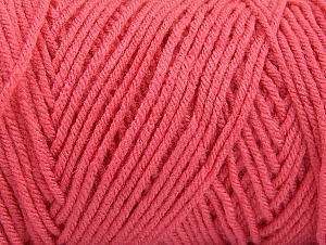 Items made with this yarn are machine washable & dryable. Fiber Content 100% Dralon Acrylic, Brand Ice Yarns, Candy Pink, Yarn Thickness 4 Medium  Worsted, Afghan, Aran, fnt2-47193