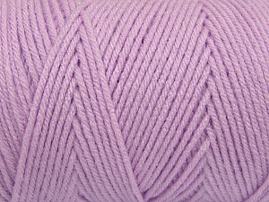 Items made with this yarn are machine washable & dryable. Fiber Content 100% Dralon Acrylic, Lilac, Brand Ice Yarns, Yarn Thickness 4 Medium  Worsted, Afghan, Aran, fnt2-47196