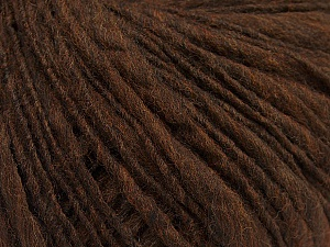 Fiber Content 60% Merino Wool, 40% Acrylic, Brand Ice Yarns, Brown, Yarn Thickness 4 Medium  Worsted, Afghan, Aran, fnt2-47249