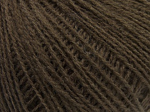 Fiber Content 70% Acrylic, 30% Wool, Brand Ice Yarns, Dark Brown, Yarn Thickness 2 Fine  Sport, Baby, fnt2-47262