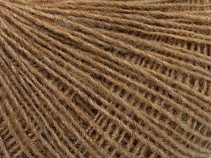 Fiber Content 70% Acrylic, 30% Wool, Light Brown, Brand Ice Yarns, Yarn Thickness 2 Fine  Sport, Baby, fnt2-47450
