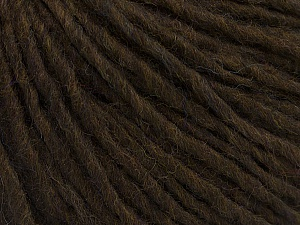 Fiber Content 70% Acrylic, 30% Wool, Brand Ice Yarns, Dark Brown, Yarn Thickness 4 Medium  Worsted, Afghan, Aran, fnt2-47499