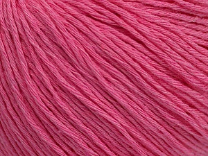 Fiber Content 100% Cotton, Pink, Brand ICE, Yarn Thickness 1 SuperFine  Sock, Fingering, Baby, fnt2-47516