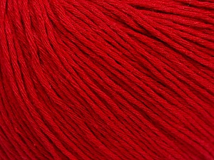 Fiber Content 100% Cotton, Red, Brand Ice Yarns, Yarn Thickness 1 SuperFine  Sock, Fingering, Baby, fnt2-47517