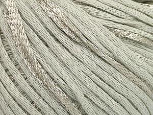 Fiber Content 79% Cotton, 21% Viscose, Light Grey, Brand Ice Yarns, Yarn Thickness 3 Light DK, Light, Worsted, fnt2-48339