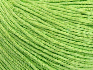 Fiber Content 100% Cotton, Light Green, Brand ICE, Yarn Thickness 1 SuperFine  Sock, Fingering, Baby, fnt2-48762