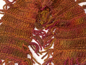 Scarf made with boucle yarn. Please be advised that this is not a yarn, but a pre-made item. Multicolor, Brand Ice Yarns, smp-821