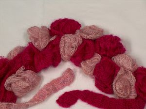 Please be advised that this is not a yarn, but a pre-made item. Multicolor, Brand Ice Yarns, smp-946