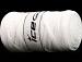 Jumbo Cotton Ribbon Optical White