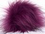 Diameter around 7cm (3&amp) Purple, Brand Ice Yarns, acs-1188