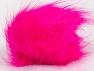 Diameter around 7cm (3&amp) Neon Pink, Brand Ice Yarns, acs-1189