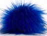 Diameter around 7cm (3&amp) Brand Ice Yarns, Blue, Black, acs-1267