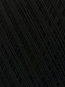 Ne: 10/3 Nm: 17/3 Fiber Content 100% Mercerised Cotton, Brand Ice Yarns, Black, Yarn Thickness 1 SuperFine  Sock, Fingering, Baby, fnt2-49526