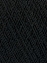 Fiber Content 67% Cotton, 33% Polyester, Brand Ice Yarns, Black, Yarn Thickness 1 SuperFine  Sock, Fingering, Baby, fnt2-49559