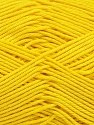 Ne: 8/4. Nm 14/4 Fiber Content 100% Mercerised Cotton, Yellow, Brand Ice Yarns, Yarn Thickness 2 Fine  Sport, Baby, fnt2-49601