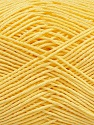 Ne: 8/4. Nm 14/4 Fiber Content 100% Mercerised Cotton, Light Yellow, Brand Ice Yarns, Yarn Thickness 2 Fine  Sport, Baby, fnt2-49602