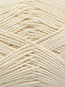 Ne: 8/4. Nm 14/4 Fiber Content 100% Mercerised Cotton, Brand Ice Yarns, Ecru, Yarn Thickness 2 Fine  Sport, Baby, fnt2-49603