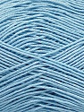 Ne: 8/4. Nm 14/4 Fiber Content 100% Mercerised Cotton, Light Blue, Brand Ice Yarns, Yarn Thickness 2 Fine  Sport, Baby, fnt2-49605