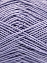 Ne: 8/4. Nm 14/4 Fiber Content 100% Mercerised Cotton, Light Lilac, Brand Ice Yarns, Yarn Thickness 2 Fine  Sport, Baby, fnt2-49849