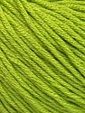 Fiber Content 60% Bamboo, 40% Cotton, Brand Ice Yarns, Green, Yarn Thickness 3 Light  DK, Light, Worsted, fnt2-50542