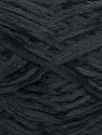 Fiber Content 100% Polyester, Brand Ice Yarns, Black, Yarn Thickness 1 SuperFine  Sock, Fingering, Baby, fnt2-50815