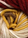 Fiber Content 100% Acrylic, Yellow, White, Red, Brand Ice Yarns, Camel, Burgundy, Yarn Thickness 5 Bulky  Chunky, Craft, Rug, fnt2-50844