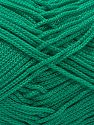 Width is 3 mm Fiber Content 100% Polyester, Brand Ice Yarns, Green, fnt2-51073