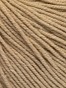 Fiber Content 60% Cotton, 40% Acrylic, Brand Ice Yarns, Beige, Yarn Thickness 2 Fine  Sport, Baby, fnt2-51218