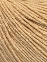 Fiber Content 60% Cotton, 40% Acrylic, Brand Ice Yarns, Dark Cream, Yarn Thickness 2 Fine  Sport, Baby, fnt2-51247