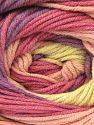 Fiber Content 55% Cotton, 45% Acrylic, Lilac, Light Pink, Brand Ice Yarns, Cream, Yarn Thickness 3 Light  DK, Light, Worsted, fnt2-51449