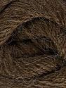 Fiber Content 45% Alpaca, 30% Polyamide, 25% Wool, Brand Ice Yarns, Dark Brown, Yarn Thickness 2 Fine  Sport, Baby, fnt2-51592