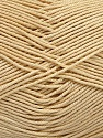 Ne: 8/4. Nm 14/4 Fiber Content 100% Mercerised Cotton, Brand Ice Yarns, Cream, Yarn Thickness 2 Fine  Sport, Baby, fnt2-51637