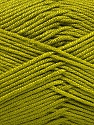 Fiber Content 50% Acrylic, 50% Bamboo, Olive Green, Brand Ice Yarns, Yarn Thickness 2 Fine  Sport, Baby, fnt2-51653