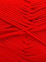Contenido de fibra 50% Acrílico, 50% De bambú, Red, Brand Ice Yarns, Yarn Thickness 2 Fine  Sport, Baby, fnt2-51661