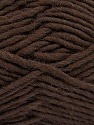 Fiber Content 100% Wool, Brand Ice Yarns, Dark Brown, Yarn Thickness 5 Bulky  Chunky, Craft, Rug, fnt2-51914
