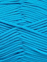 This is a tube-like yarn with soft fleece inside. İçerik 73% Viskon, 27% Polyester, Turquoise, Brand Ice Yarns, Yarn Thickness 5 Bulky Chunky, Craft, Rug, fnt2-52046