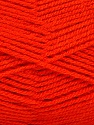 Fiber Content 100% Acrylic, Brand Ice Yarns, Dark Orange, Yarn Thickness 3 Light  DK, Light, Worsted, fnt2-52094