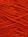 Bulky  Fiber Content 100% Acrylic, Brand Ice Yarns, Dark Orange, Yarn Thickness 5 Bulky  Chunky, Craft, Rug, fnt2-52122