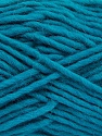 Fiber Content 100% Wool, Teal, Brand Ice Yarns, Yarn Thickness 5 Bulky  Chunky, Craft, Rug, fnt2-52401